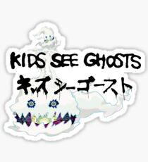 kids see ghosts Sticker