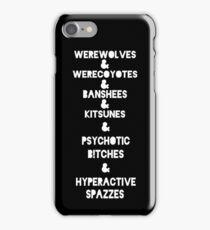 Teen & Wolf & iPhone Case/Skin