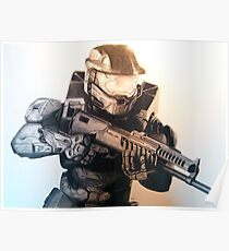 Master Chief- Halo Poster