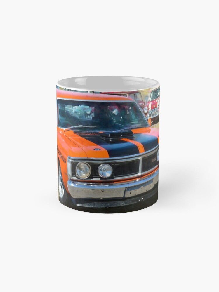 Alternate view of Red XY Ford Falcon 351GT Mugs