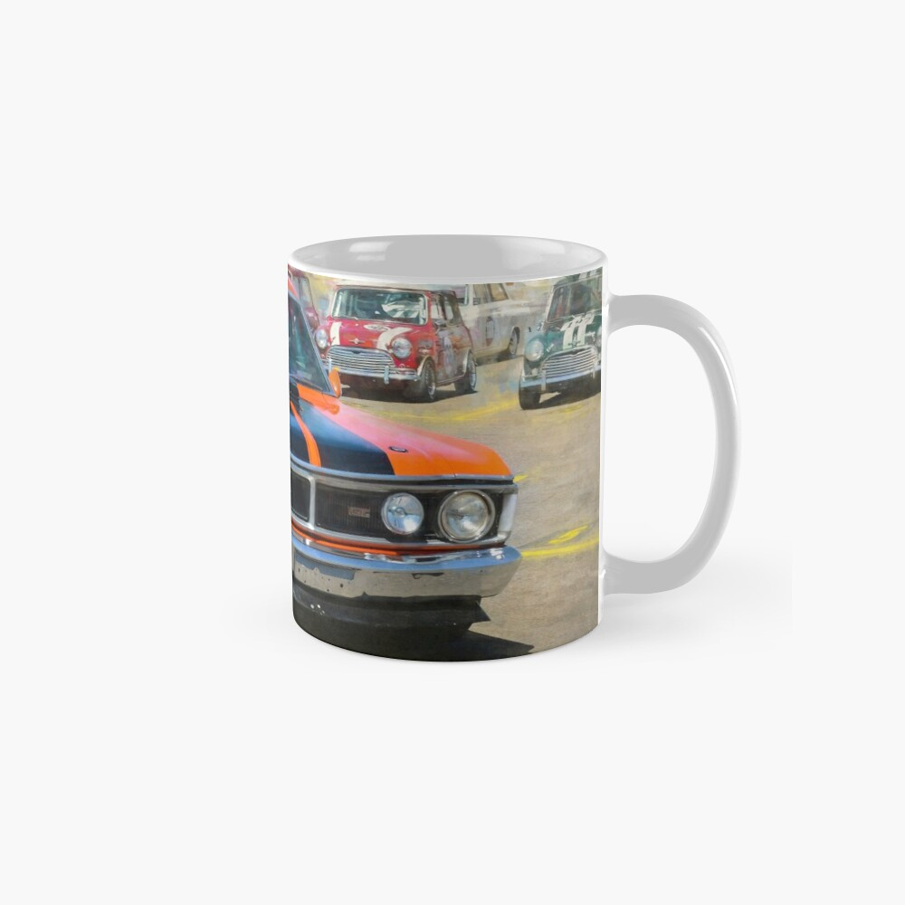 Red XY Ford Falcon 351GT Mugs