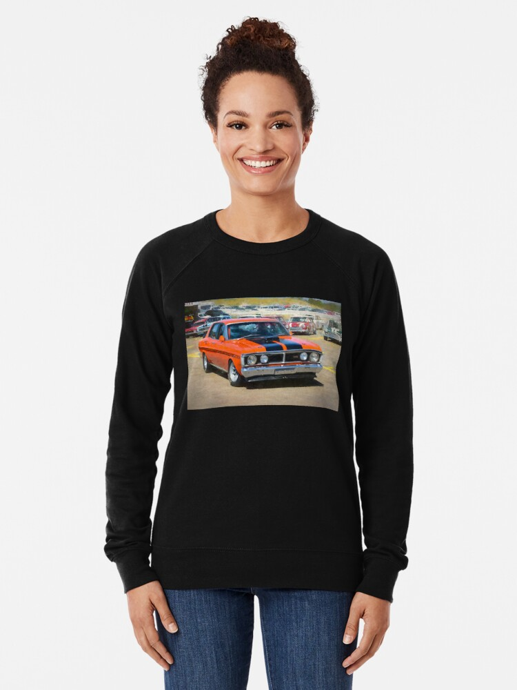 Alternate view of Red XY Ford Falcon 351GT Lightweight Sweatshirt