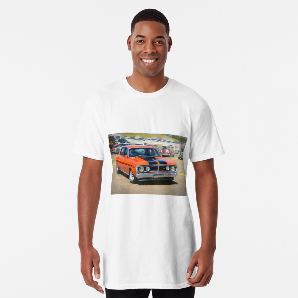 Red XY Ford Falcon 351GT Long T-Shirt