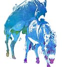 Frisky Donkeys by eyes4nature