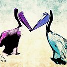 """""""Lovebird"""" Pelicans by eyes4nature"""