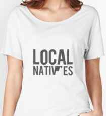 Local Natives Logo Women's Relaxed Fit T-Shirt