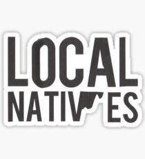 Local Natives Logo Sticker