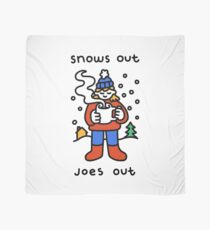 Snows Out Joes Out Scarf