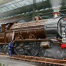 "LBSC Atlantic Express Locomotive ""Beachy Head"" by Rasendyll"