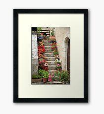 Pretty Steps, France Framed Print