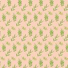 Green bamboo leaves  by AnnArtshock
