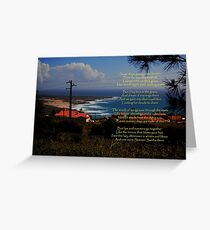 Summer Days-(Picture taken in Azoia, Portugal) Greeting Card