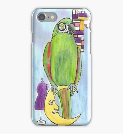 M is for Macaw iPhone Case/Skin
