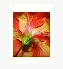 Brush & Palette Art Print