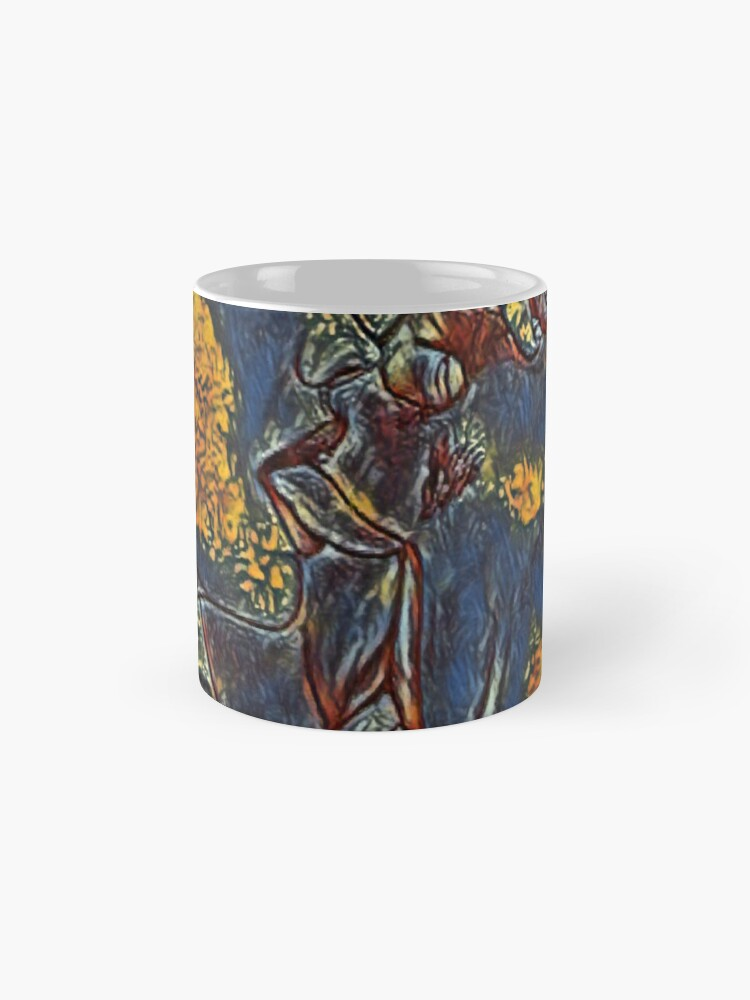 Alternate view of the beauty of kissing Mug