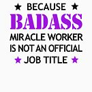 Tile Installer Badass Birthday Funny Christmas Cool Gift by smily-tees
