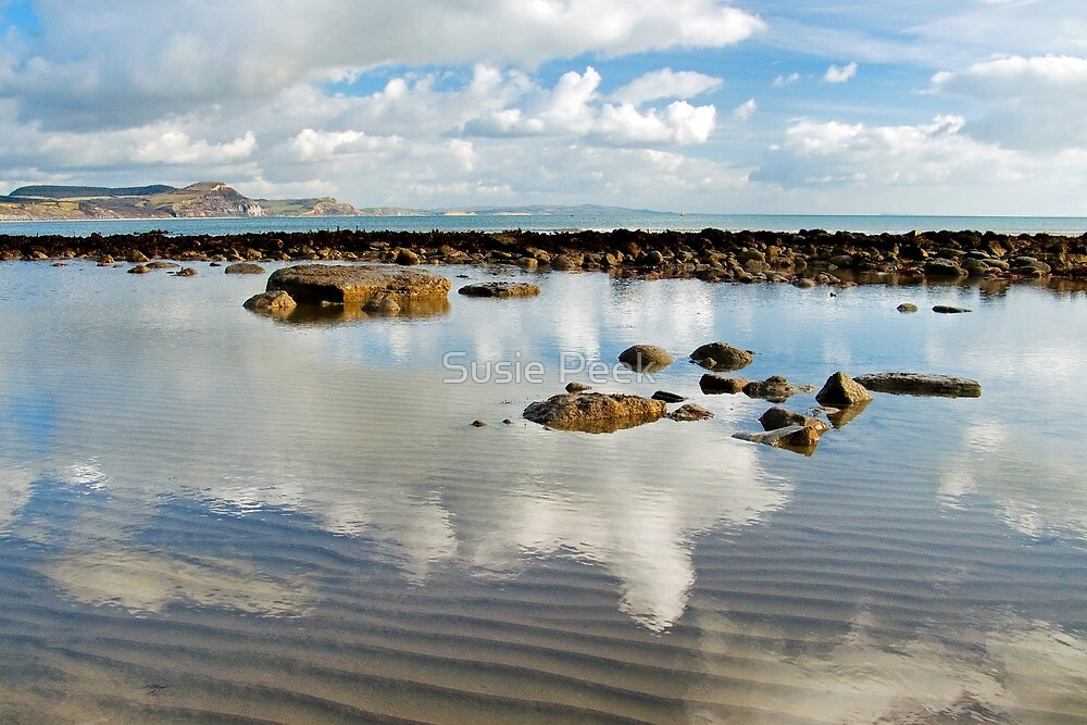 Low Tide ~ Lyme Regis by Susie Peek