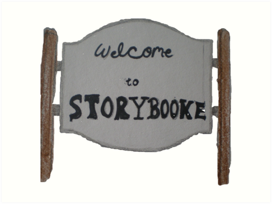 """Welcome to Storybrooke sign once upon a time "" Art Prints ..."