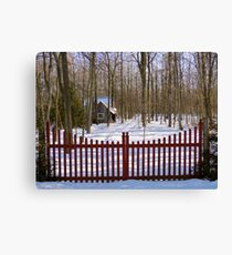 Gated Community Canvas Print