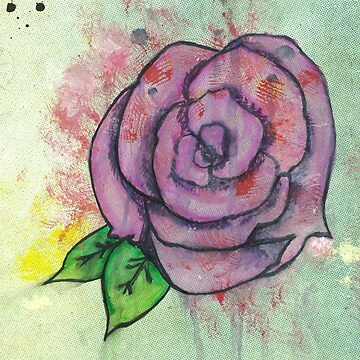 Dripping Rose by Kyleacharisse
