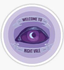 Pegatina Bienvenido a Night Vale