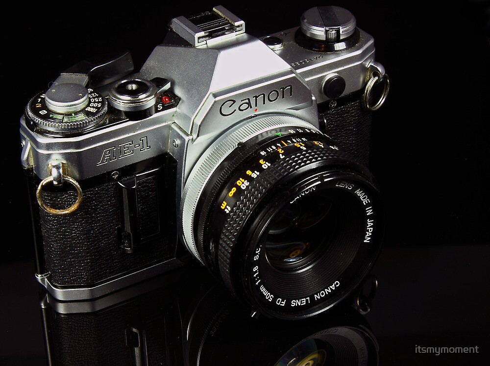 The King of 35mm - Canon AE-1 by itsmymoment