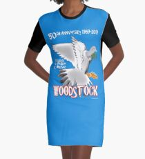 Woodstock 50th Anniversary Graphic T-Shirt Dress