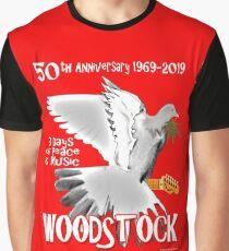 Woodstock 50th Anniversary Graphic T-Shirt