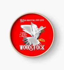 Woodstock 50th Anniversary Clock