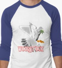 Woodstock 50th Anniversary Men's Baseball ¾ T-Shirt