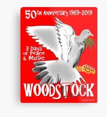 Woodstock 50th Anniversary Metal Print