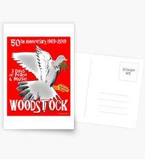Woodstock 50th Anniversary Postcards