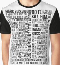Game Grumps Quotes Graphic T-Shirt