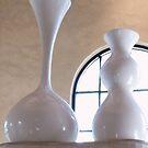 White Vases by Adria Bryant