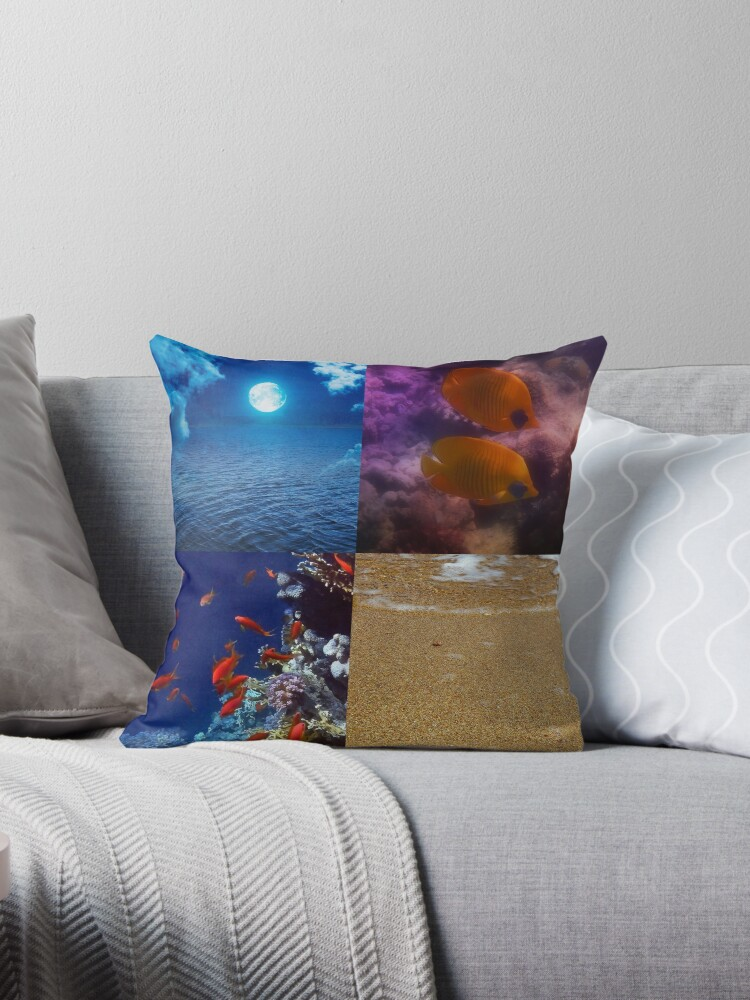 Sealife And Seashore Collage Vertical 1 by hurmerinta