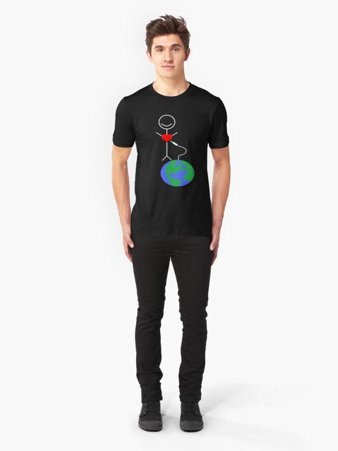 Alternate view of Heart Speak Slim Fit T-Shirt