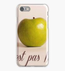 Ceci n'est pas Magritte - pomme iPhone Case/Skin