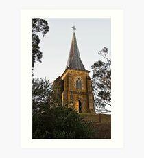 St John Catholic Church  Art Print