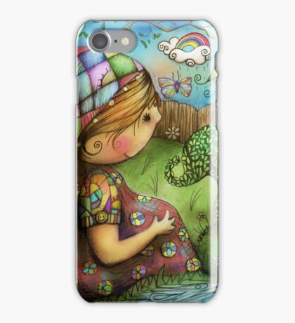 There's an Elephant in my Garden iPhone Case/Skin