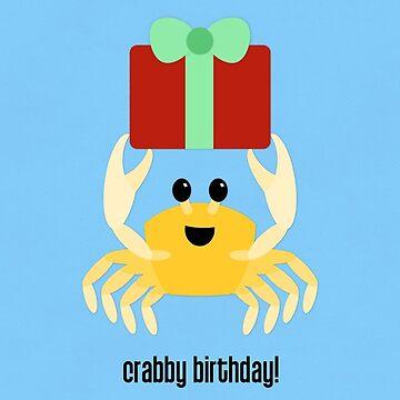 Crabby Birthday by redscharlach