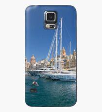 Malta: Vittoriosa Yacht Marina Case/Skin for Samsung Galaxy