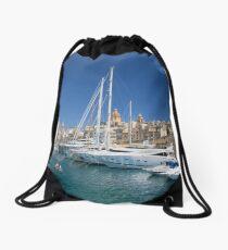 Malta: Vittoriosa Yacht Marina Drawstring Bag