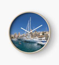 Malta: Vittoriosa Yacht Marina Clock