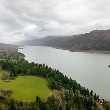 Beautiful Pacific Northwest Landscape in Washougal Washington by cheesim
