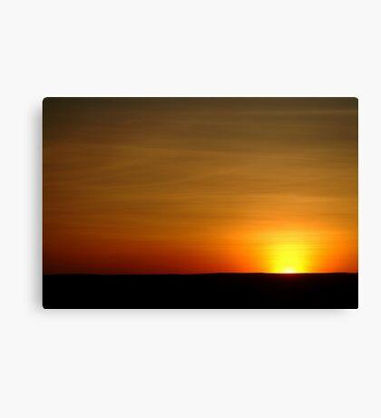 Colours of a Cambridge Gulf Sky Canvas Print
