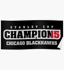 Stanley Cup Champions 2015 Poster