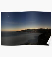 Comet McNaught over the Surfcoast Poster