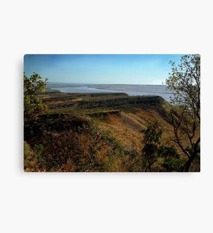 West Arm,Bastion Range, Cambridge Gulf Canvas Print