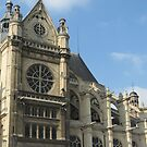 Paris cathedral by Sherry Freeman