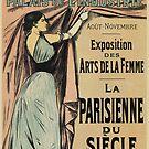 La Parisienne 1892 Women's Art by aapshop